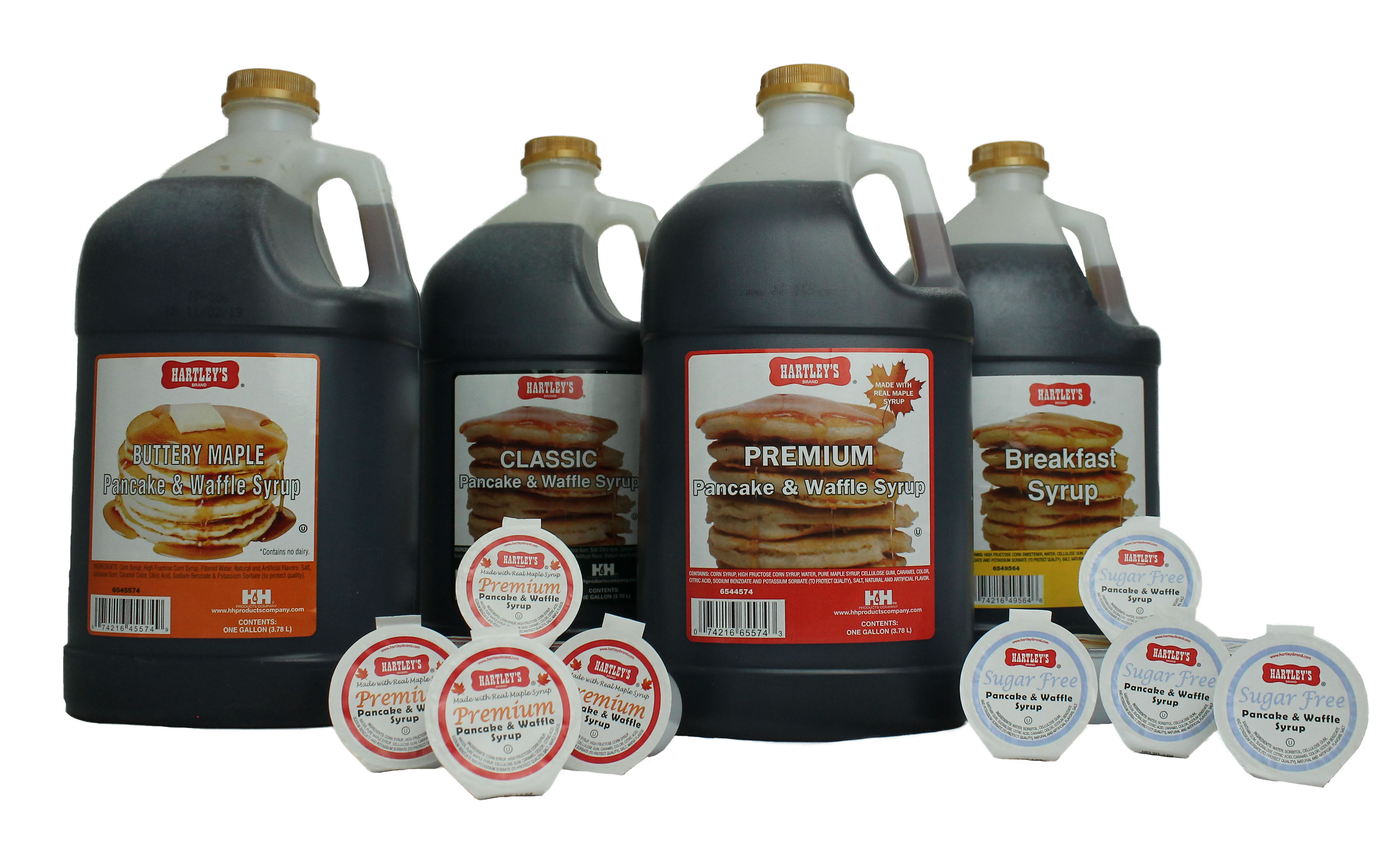 Single Serve Packages of Syrup