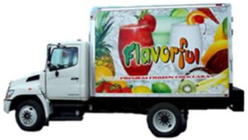 Flavorful Beverages Box Truck
